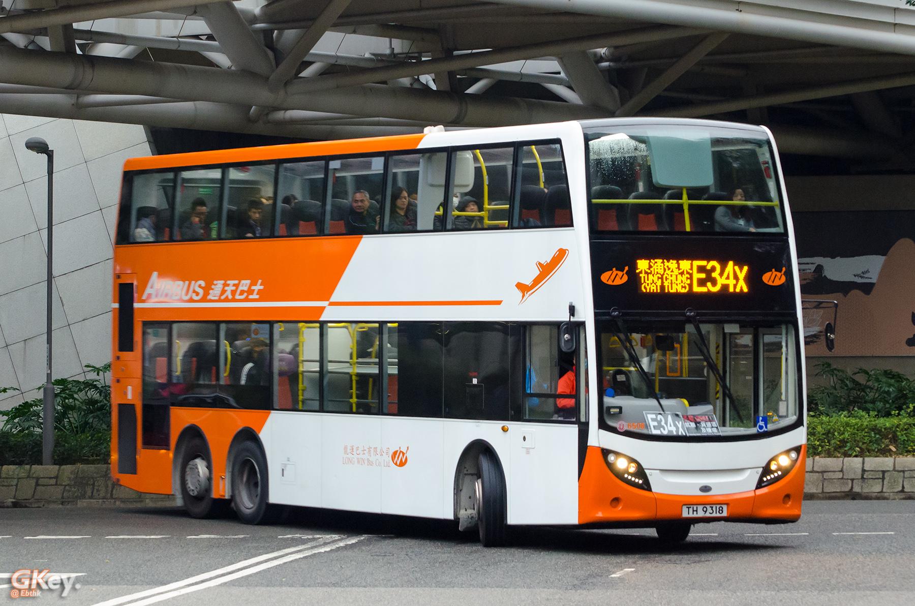 龍運巴士E34X線