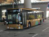 圖庫:港珠澳大橋穿梭巴士
