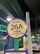 Kowloon 26A minibus stop 02-11-2020