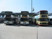 KMB HG4200 80,HF3048 TB,FZ5653 74A Kwun Tong Ferry Pier