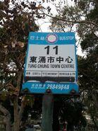 NLB 11 bus stop