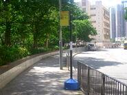 Sau Fu House CTB E22B N26 Temporary bus stop