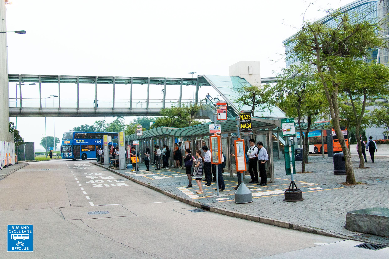 國泰城 (觀景路巴士站專用迴旋路)