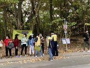 MTR staff in Tai Tong Shan Road 25-12-2020