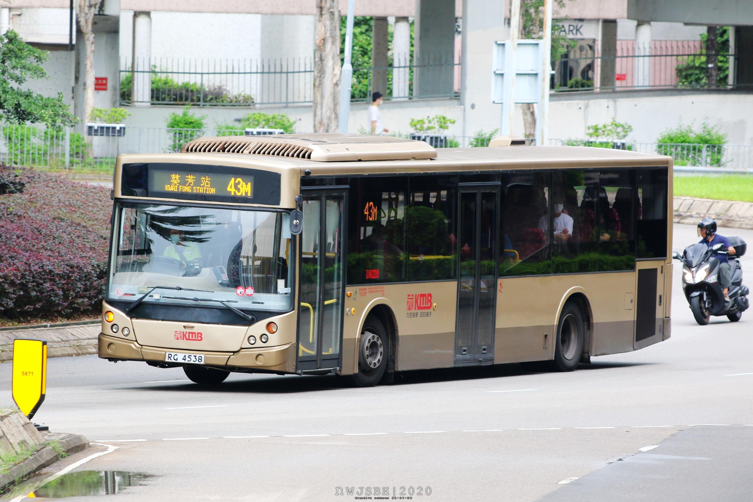 九巴43M線