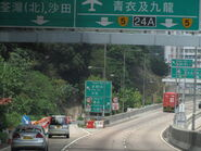Tuen Mun Road Tsuen Wan End