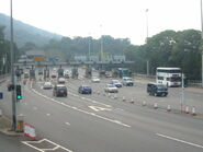 Lion Rock Tunnel Toll Plaza 1
