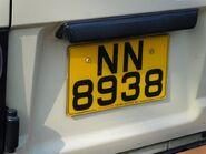Toyota NN8938 RearPlate