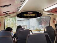 ATENU1326 run KMB 61S show bus stop screen 14-10-2021