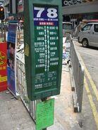 Hankow Road 78 stop
