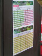 NR839 timetable eff 20190930