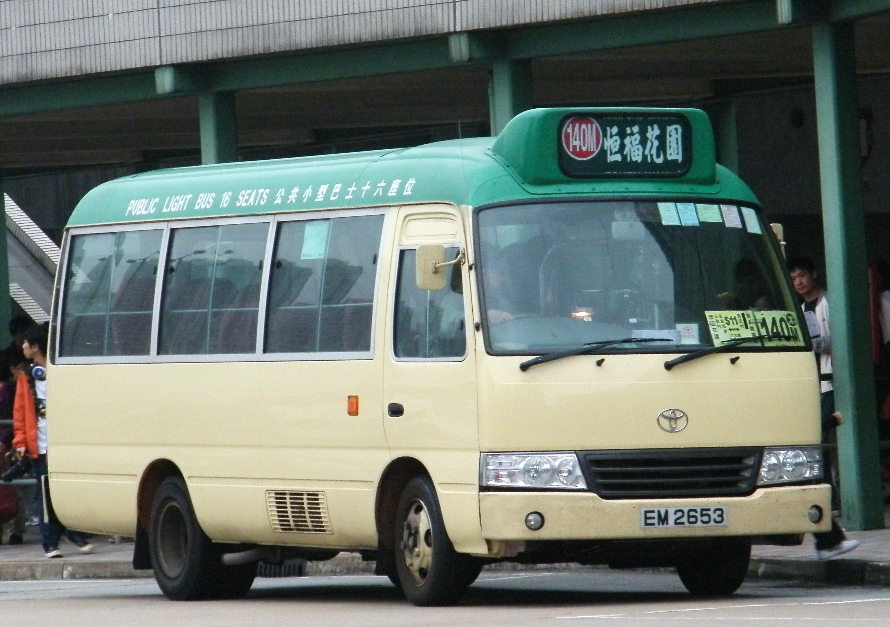 新界專綫小巴140M線