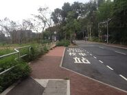 CWC College bus stop view 1