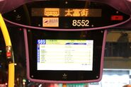 LECIP Motion Bus Stop Display Panel on Citybus 8552 2