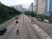 Route 5 near Kwai Tsing Interchange