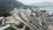Tuen Mun Chek Lap Kok Tunnel Interchange - Drone 2