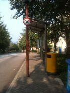 25 Caperidge Drive bus stop 2