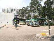 MinibusDA9137+ToyotacoasterWL6842 at the Wonderland villas minibus terminals