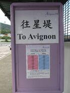 Avignon TWN Stn stop