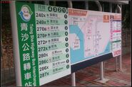 Tsing Sha Highway Bus Interchange S Map