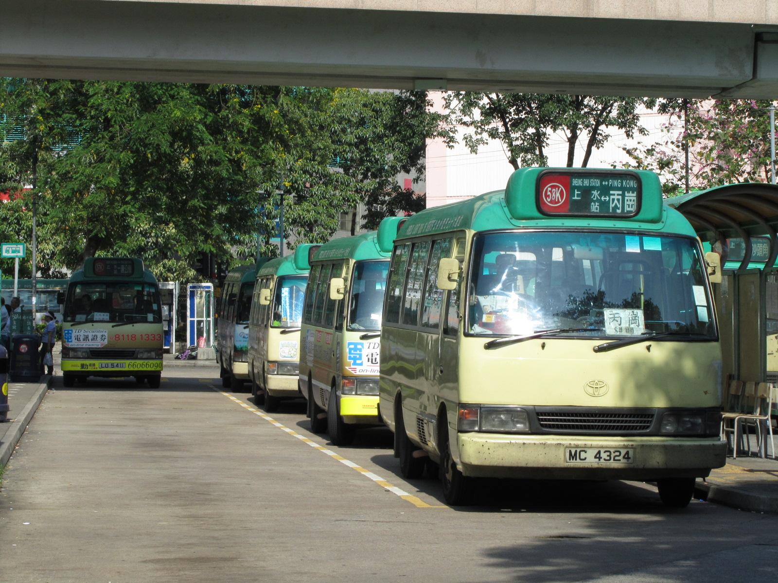 新界專綫小巴58K線