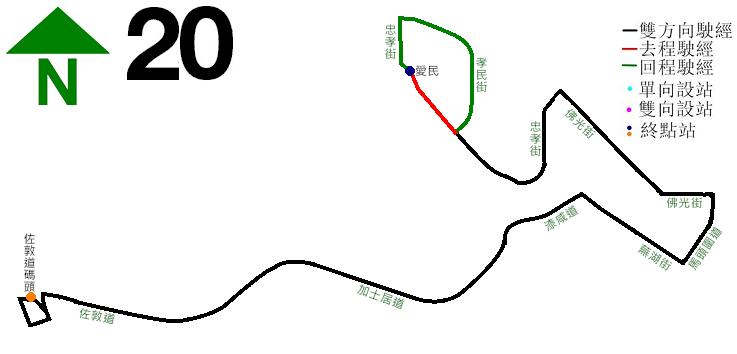 九巴20線
