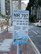 NR707 bus stop 18-06-2021