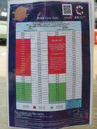 NR05 timetable 201905