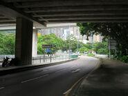 Siu Lek Yuen Road under Tate's Cairn Highway 20170727