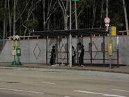 (Hong Kong Baptist University) bus stop(27-6-13)