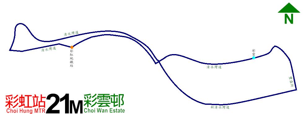 九巴21M線