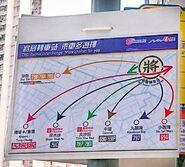 NWFB and CTB Tseung Kwan O Tunnel Bus Bus Interchange Kowloon Direction interchange summary poster