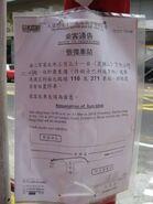 Peking Road Canton KMB notice