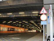 Airport T2 coach terminal entrance