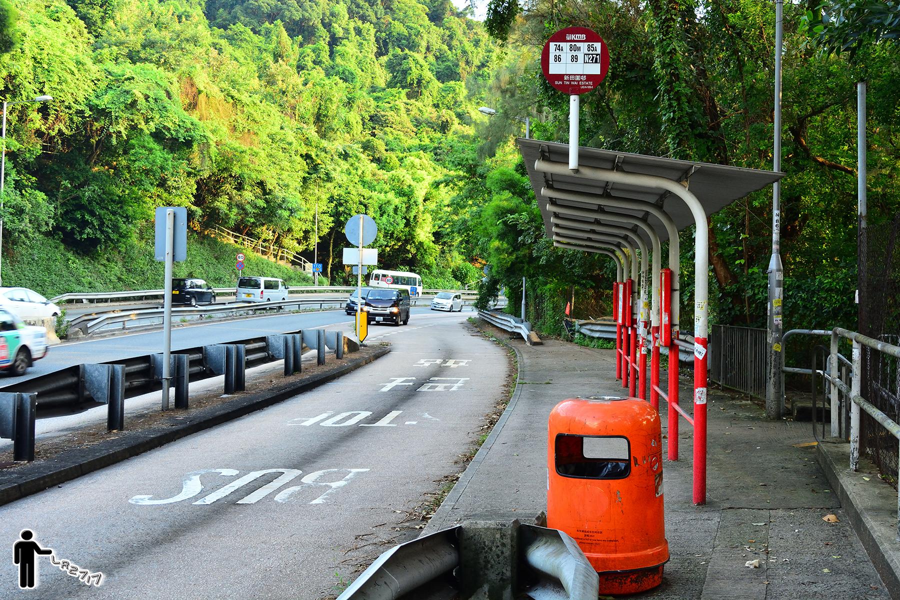 新田圍邨 (獅子山隧道公路)