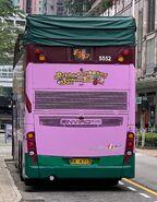 NWFB 5552 RK4712 Tseung Kwan O Tunnel Bus Bus Interchange facilitate day mobile billboard promotion (3)
