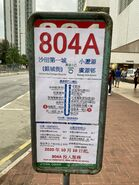 New Territories 804A route map