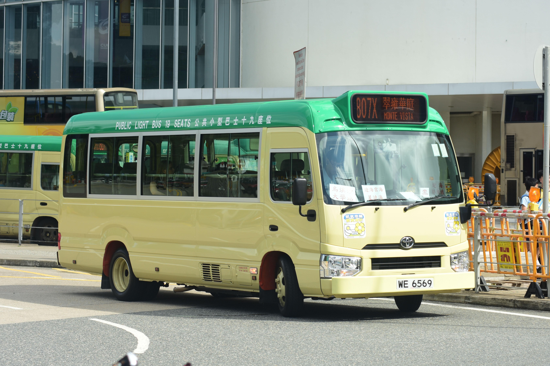 新界專綫小巴807X線