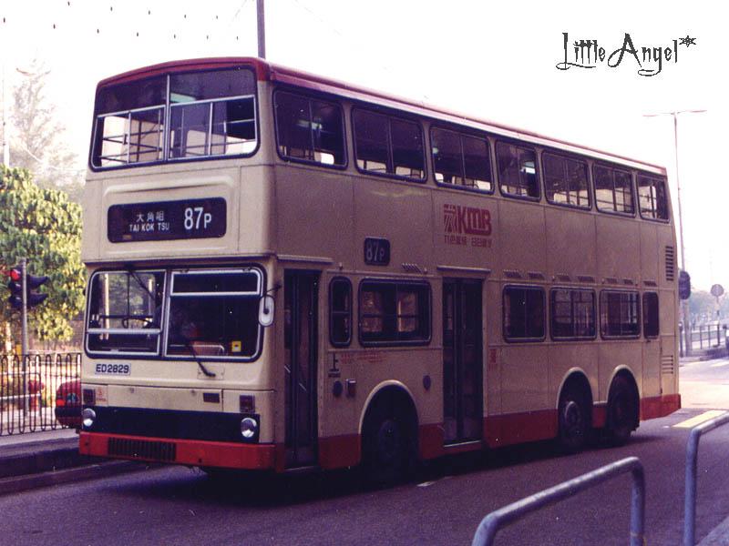 九巴87P線 (第一代)