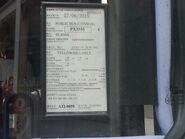 PX3555 Motor Vehicle Licence