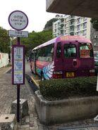 University Station bus terminus for NR834 04-04-2018