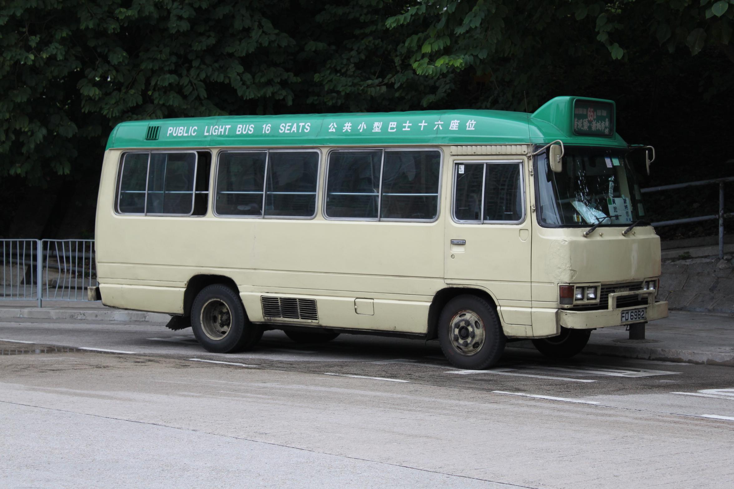 新界專綫小巴65A線