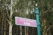 Sunny Bay Road Sign