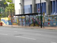 Osman Ramju Sadick Memorial Sports Centre bus stop ----(2013 12)