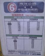 HKGMB6 Timetable 2009