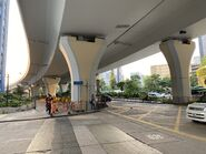 Pacific Trade Centre minibus and resident bus stop(Near Kwun Tong Promenade bus stop) 23-07-2021