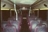 NWFB Fleet No 3080 compartment