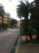 La Vista (Vista Court) bus stop view