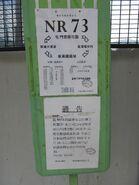 NR73 TWN Stn stop