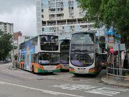 NWFB 5534 PU9997 and 4507 TM8143 in Wah Fu (South) Bus Terminus 09-10-2021